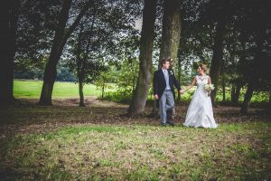 bride-groom-woods
